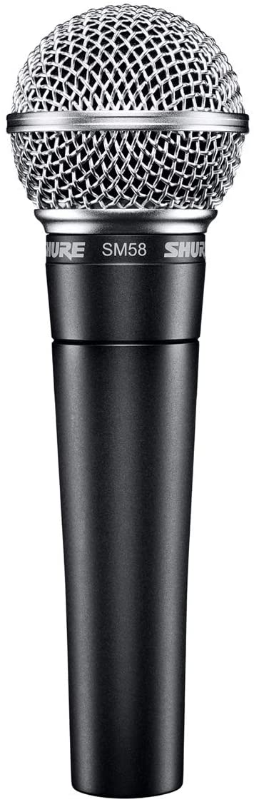 The Live Vocal Mic - Shure SM 58